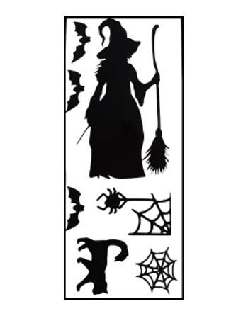 Raamstickers Halloween - Set 1