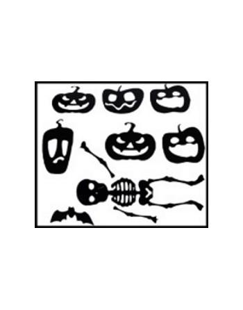 Raamstickers Halloween - Set 2