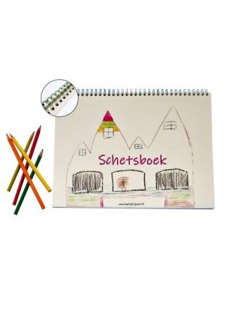 Schetsboek A4 (Met...