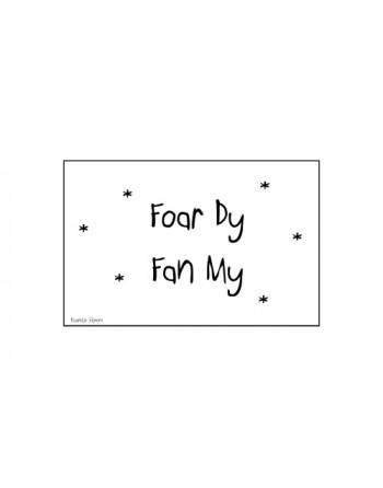 Minikaartje - Foar dy fan my