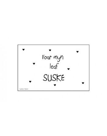 Minikaartje - Foar myn leaf...