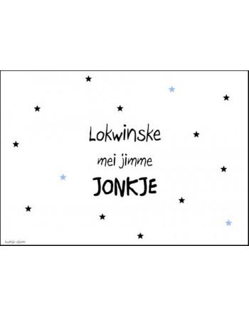 Kaart A6 enkel - Lokwinske...