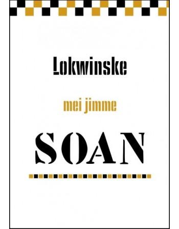 Kaart A6 dubbel - Lokwinske...