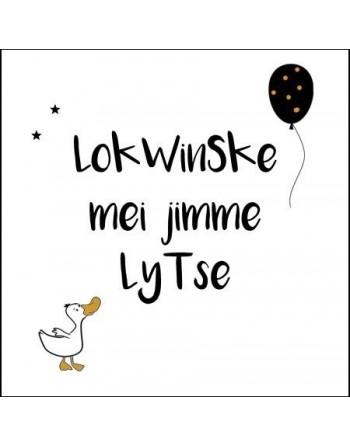 Kaart dubbel - Lokwinske...